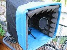 Construye tu propia cabina de grabación… ¿Portátil?