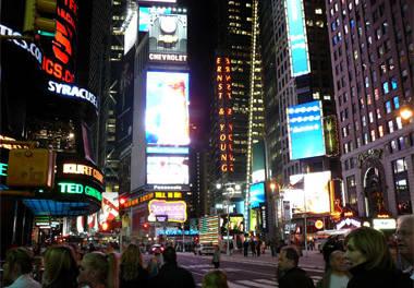 New York, New York: off topic