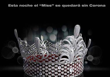 Sin corona el 'Miss Venezuela'