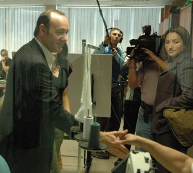 Kevin Spacey visita Venezuela