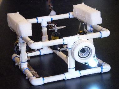 Contruye tu propia cámara robot subacuática