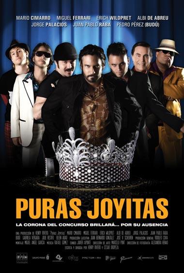 Puras Joyitas, el primer afiche