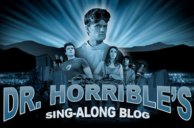 "Dr. Horrible's Sing-Along Blog, o ""Supervillano, el musical"""