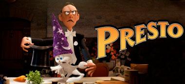 Presto, vertiginoso corto de Pixar