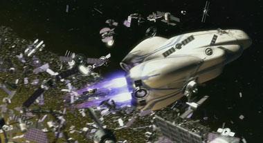 Wall-E y la chatarra del espacio