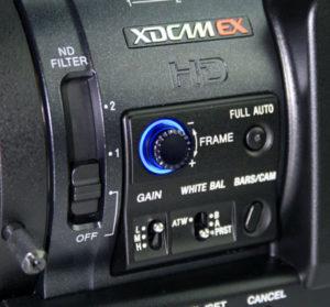 Botón externo para el control de la variación de la velocidad