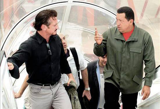 Sean Penn en Venezuela, otra vez