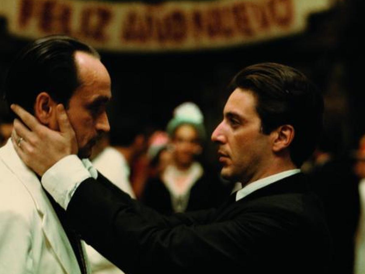 El beso de la muerte', escena icónica de la película El Padrino II -  BLOGACINE
