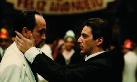 'El beso de la muerte', escena icónica de la película El Padrino II