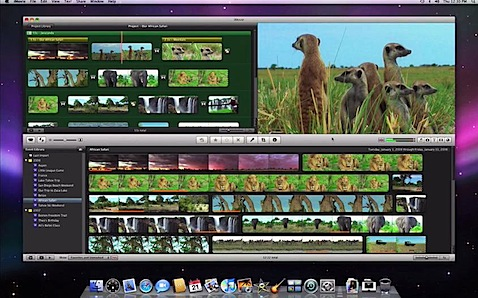 Apple iMovie 09, aún sin timeline