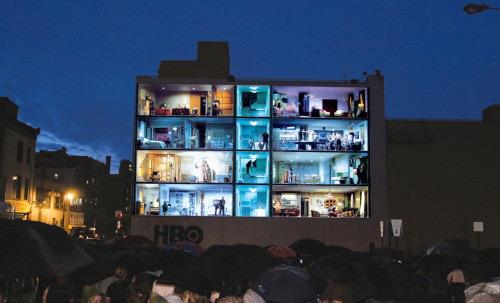 HBO Voyeur Project, ventanas indiscretas