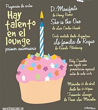 Esta noche, edición aniversario de Hay Talento en el Lounge