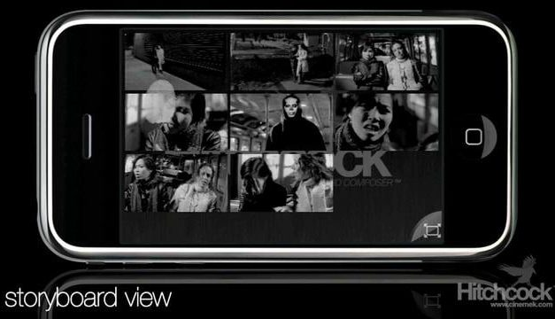 Hitchcock es una aplicación para hacer storyboards en un iPhone