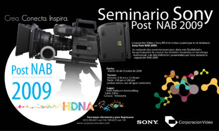 Seminario Post NAB, una invitación