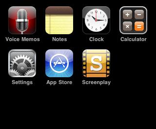 Escribe un guión en tu iPhone con Screenplay