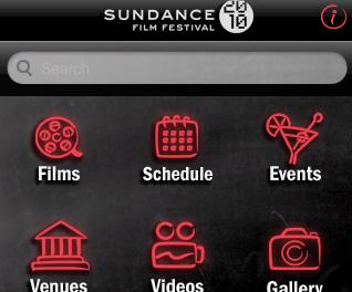 Sundance en tu iPhone