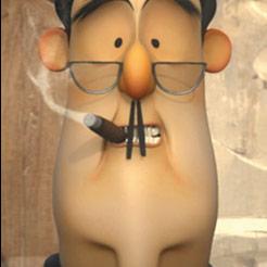 French Roast, otro de los cortos animados nominados al Oscar 2010