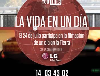 YouTube te invita a participar en La Vida en un Día