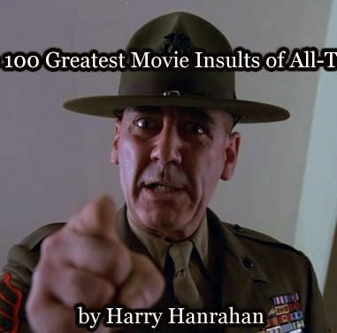 100 grandes insultos de la historia del cine