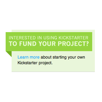 ¡Psst! ¡Psst! ¿Buscando fondos para tu proyecto? Kickstarter te puede ayudar