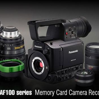 Panasonic presenta su nueva AG-AF105, cámara de video con óptica intercambiable