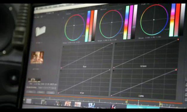 vWAVE-Lite, corrige el color de tu película desde tu iPad