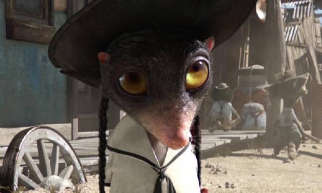 Rango, spaghetti western animado