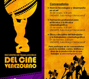 Primer Encuentro de Trabajadores del Cine Venezolano