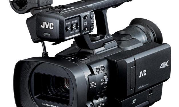JVC presenta la primera cámara de mano 4K: GY-HMQ10