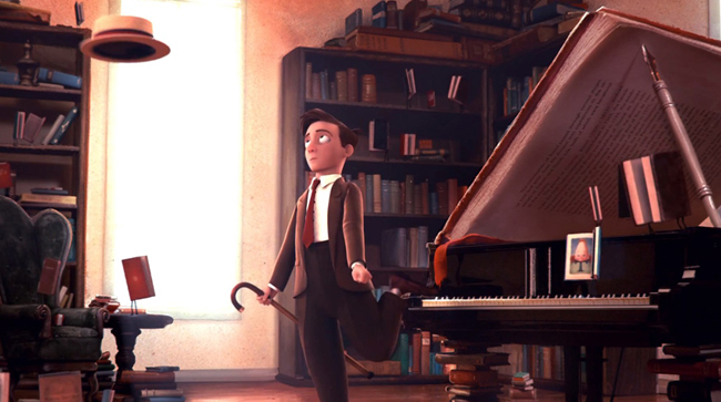 Oscars 2012,The Fantastic Flying Books of Mr. Morris Lessmore, nominado en cortometraje animado