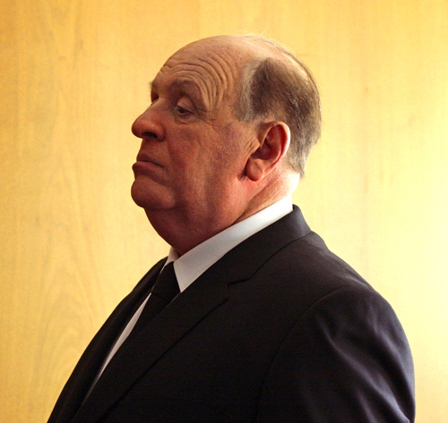 Anthony Hopkins como Alfred Hitchcock