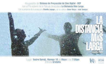 El Teatro Baralt iniciará Proyecciones Cinematográficas con Tecnología Digital