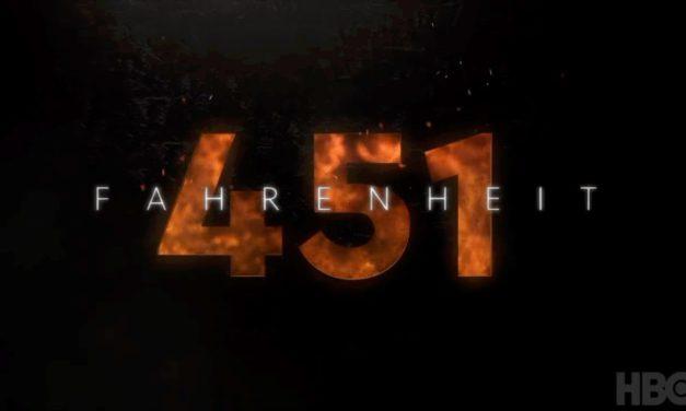 El primer trailer de Fahrenheit 451 está que arde