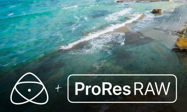Apple presenta el nuevo ProRes Raw