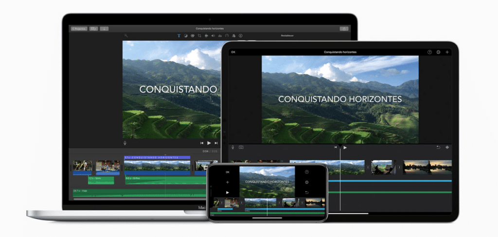 Las mejores herramientas de edición no lineal, Apple iMovie