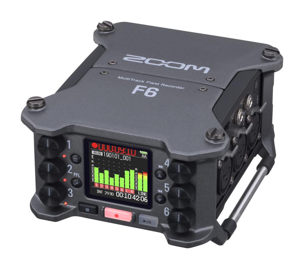 El Zoom H6, 32-Bit flotantes de grabación