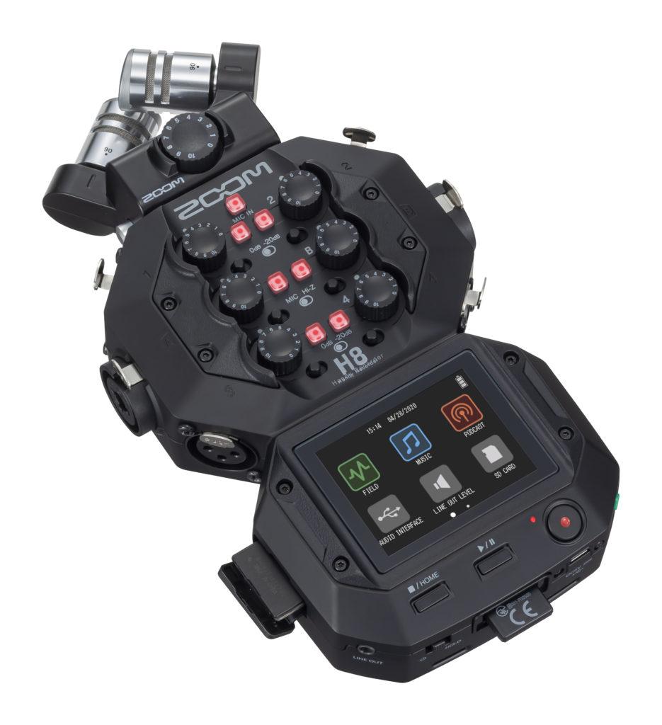 El nuevo Zoom H8, a prueba de obsolescencia