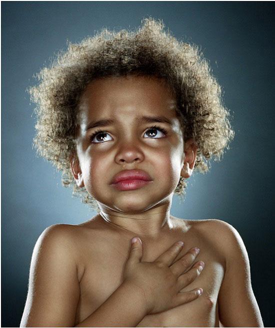 Bebé que llora, de Jill Greenberg