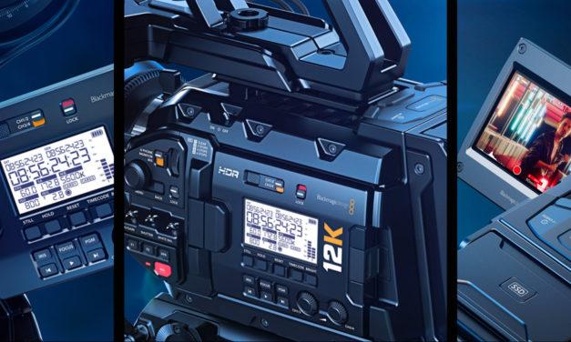 Blackmagic hace historia al presentar la primera cámara 12K: la nueva URSA Mini Pro