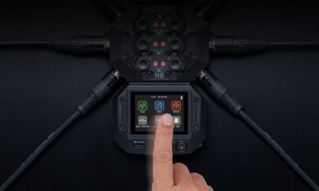 Conozcan el nuevo Zoom H8, grabador modular y multipropósito