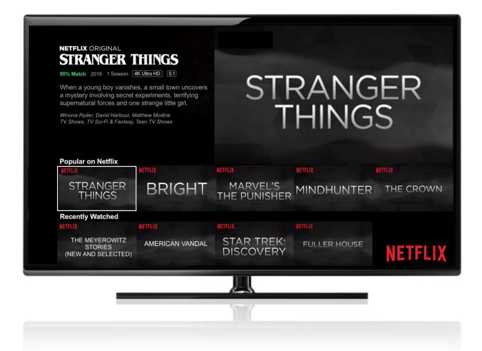 Las recomendaciones personalizadas de Netflix deciden qué imagen mostrarte