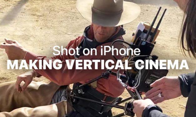 Shot on iPhone Vertical Cinema, Damian Chazelle filma en vertical para Apple
