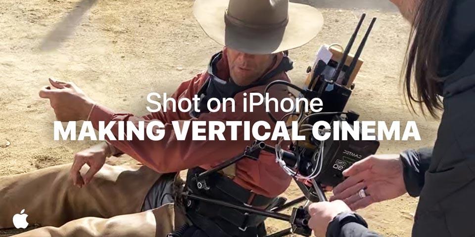 Shot on iPhone Vertical Cinema